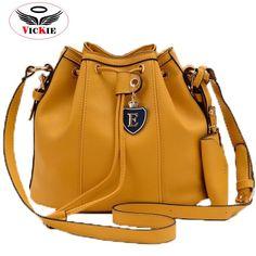 Bucket bag Leather Shoulder vintage Ladies S03 Cheap Fashion 3fff2b2315222