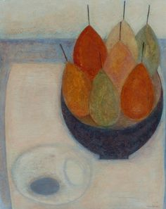 Vivienne Williams, Seven Pears and Two Eggs, (2015)
