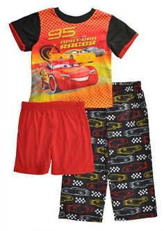 6c299d70507a5 $12.99 - Cars Toddler Boys 3-Piece Pajama Set Size 2T 3T 4T $38 #ebay  #Fashion