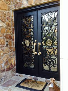 Door design modern 357965870385789581 – Home Decor – womenstyle. Iron Gate Design, House Gate Design, House Front Design, Double Door Design, Main Door Design, House Doors, House Entrance, Modern Entry Door, Iron Front Door