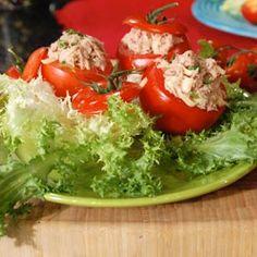 tomates rellenos con atun
