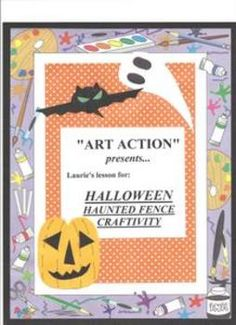 A HALLOWEEN  three-dimensional and visual composition activity for the elementary student, allowing for development of creativity, social skills, and imagination.  Activity also includes language arts, as it combined with reading and discussion of a Halloween story.