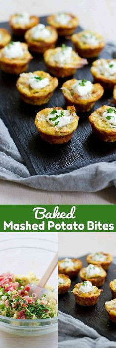 You won't be able to eat just one of these Baked Mashed Potato Bites, the perfect lightened-up appetizer! For 2 bites…81 calories and 3 Weight Watchers SmartPoints