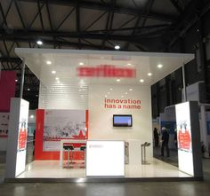 Exhibition stand by Teeyoo Expo China made with Norse fasteners delivered by Easy-Click Systems. picture 1