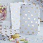 """Party Bags """"Gold Dots"""""""