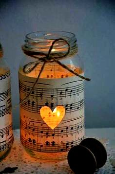 Music on Mason Jars with Candeberg LED Candles :) Ring in the festive season. Our candles are available on Amazon India amzn.to/1O5EhPG