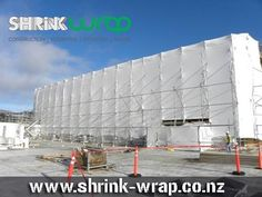 We can install the #scaffold_wrap using our own expert specialists. http://shrink-wrap.co.nz/services/scaffolding