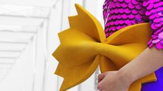 Farfalle pasta purse by Rommydebommy