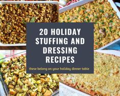 Smothered Chicken with Rice | Just A Pinch Recipes Easy Stuffing Recipe, Rice Stuffing, Stuffing Casserole, Herb Stuffing, Stuffing Recipes, Turkey Recipes, Cannoli, Thanksgiving Stuffing, Thanksgiving Ideas