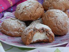biscotti morbidi alla nutella con cuore di cocco