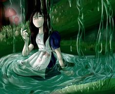 Alice Liddell, Alice Madness Returns, Alice In Wonderland, Flowers, Video Games, Backgrounds, Fictional Characters, Lighting, American