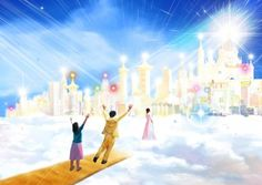 8 Awesome Depictions of Heaven!   Project Inspired