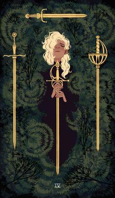Four of Swords - by Sara Kipin