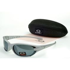 Oakley Women'S Sunglasses Smoky Lens Silver Frames-21312