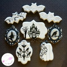 Victorian Inspired Halloween | Cookie Connection