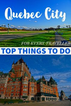 Discover the Top Things to do in Quebec City for Every Traveller. From peacefully green spaces to delicious food, and a wealth of history, this guide to Quebec City will prove there is something for everyone. #Canada #Quebec #travel #cityguide