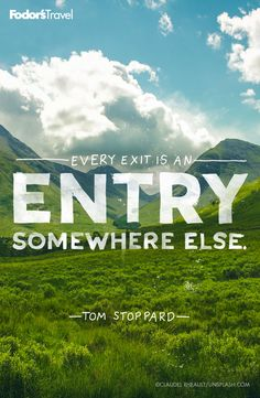 #Travel #Inspiration #Quotes #TomStoppard