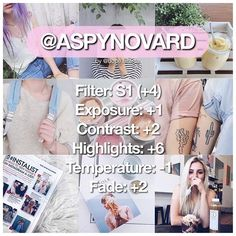 """-  similar to @aspynovard's filter!!  works best on pictures with light colours in them and well lit photos.  paid on vsco cam // """"limited edition collection"""" — not actually limited edition but the price is just on sale -  this was crazy requested on dm like woaah  comment on @aspynovard's recents saying I revealed her filter  comment your requests below - #dopefilterssvscocam #dopefilterssfeaturepost"""
