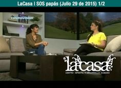 LaCasa | SOS papás (Julio 29 de 2015) - 1/2   Entrevista a: Ana María González Z. (LaCasa - Centro Infantil y Desarrollo Humano) Programa: De Todo En Casa (Cosmovisión) Presentadora: Lina Mantiulla Fecha de emisión: 29 de julio de 2015  www.LaCasa.edu.co