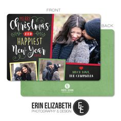 How adorable is this Christmas card?  This would be perfect to send out to my friends and family this Holiday season!