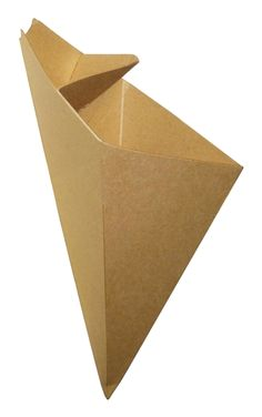Eco Friendly Cardboard Cone With Built In Sauce Container Large Size holds… – Ye iç Restaurant - Responsible Fries Packaging, Takeaway Packaging, Food Packaging Design, Catering Trays, Catering Food, Deco Restaurant, Restaurant Concept, Fish And Chips, Starting A Restaurant