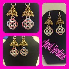 Celtic Knot, Byzantine, Washer Necklace, Knots, My Etsy Shop, Bracelets, Earrings, Jewelry, Bangles
