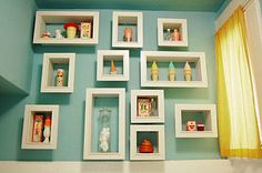 Loads of ideas for displaying collections of all sorts of things!