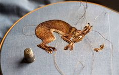 Embroidered Animals By Chloe Giordano