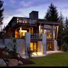 My whistler home...