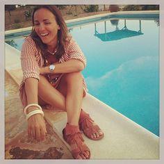 #CamilaRaznovich Camila Raznovich: Keep on laughing...photo by @pellicture #ahahaha #ohyeah #currentmood #ibiza #laislabonita #summertime #thewayifeel