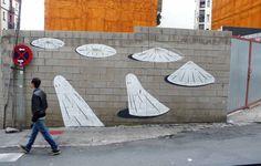 Enigmatico Street Art da Escif   Abduzeedo ispirazione di design
