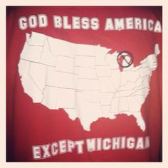 GOD BLESS AMERICA BUT NOT THE STATE UP NORTH!!