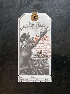 Más tamaños | Stranger & Stranger Spirit Tag - Black Rhum | Flickr: ¡Intercambio de fotos!