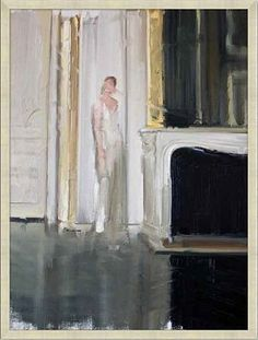 Havertys - Lady in White Canvas