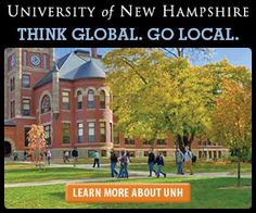 The University of New Hampshire combines the living and learning environment of a New England liberal arts college with the breadth, spirit of discovery, and civic commitment of a land-grant research institution. University Of New Hampshire, Liberal Arts College, Learning Environments, New England, Mansions, House Styles, News, Mansion Houses, Mansion