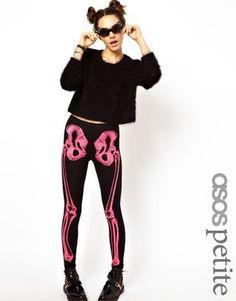 ASOS PETITE Exclusive Skeleton Leggings on shopstyle.co.uk