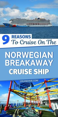 Reasons to cruise on the Norwegian breakaway cruise ship operated by Norwegian Cruise Line with cruise tips and ship facts. #cruise #cruises #travel #norwegiancruiseline #cruiseship #cruisetips Top Cruise, Packing For A Cruise, Best Cruise, Cruise Port, Cruise Ships, Cruise Travel, Cruise Vacation, Best Vacation Destinations, Best Vacation Spots