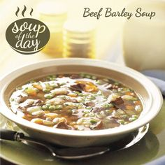 Beef Barley Soup Recipe from Taste of Home -- shared by Elizabeth Kendall, Carolina Beach, North Carolina