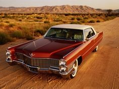 Cadillac Coupe DeVille 1965.