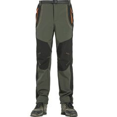 New Winter Men Women Hiking Pants. Outdoor Softshell Trousers Waterproof Windproof Thermal for Camping. Best Hiking Pants, Best Hiking Shoes, Hiking Boots, Best Shoes Online, Ski Pants, Sport Pants, Thermal Pants, Boots Store, Boot Shop