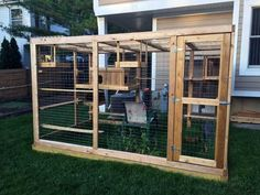 ellis outdoor cat house and cat run with security porch-manchester ... - Cat Patio Ideas