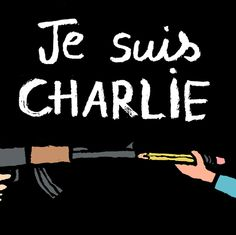 artists worldwide respond to charlie hebdo tragedy with powerful drawings
