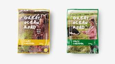 Great Ocean Road Dairy — The Dieline - Branding & Packaging Design