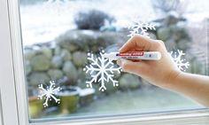 Fensterdekoration im Advent
