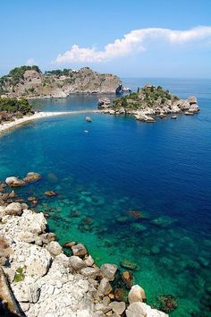 Sicily, Italy- beautiful! - Taormina! Been there. Just as beautiful in person…