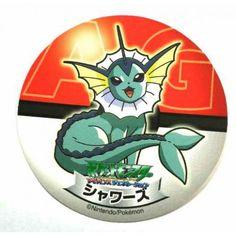 Pokemon 2006 Sapporo Ichiban Ramen AG Collection Series Vaporeon Sticker