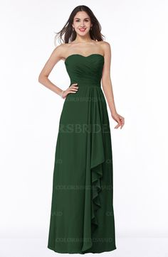 f5e12cd55cf Classic A-line Zipper Chiffon Floor Length Plus Size Bridesmaid Dresses at  a discount price