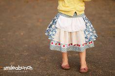 Little Girls' Apron Skirt