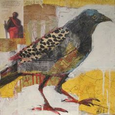 Irreverent Art, Liz Hill: The Crow