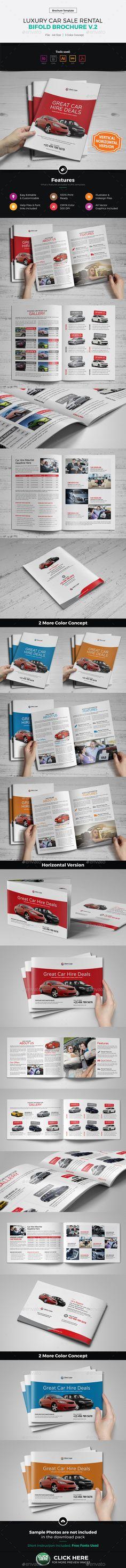 Luxury Car Sale Rental Brochure v2 - Corporate Brochures